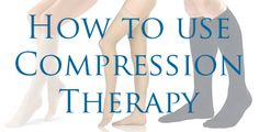 What is Compression Therapy? Compression stockings, socks and tights are intended to apply pressure against the leg and help pump blood to the heart. Helps with: spider veins, swelling, tired feet, pregnancy, varicose veins, etc.