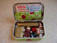 This is truly a case of minds thinking alike! After the project that I did last week with the empty dental floss containers, I had an idea for a similar project which used an empty Altoids tin. I h...