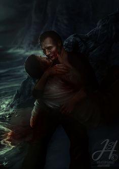 Hannibal Lecter, Nbc Hannibal, Never Let Me Go, Let It Be, Yuri, Will Graham Hannibal, Fan Art, Fictional Characters, Kintsugi
