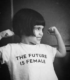 #thefutureisfemale as captured by @girlsgonechild by otherwild