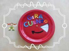 El Gira-Cuento un ingenioso recurso para trabajar la expresión oral y desarrollar la creatividad de los peques