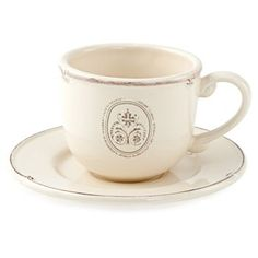 Check out this item at One Kings Lane! S/2 Teacups & Saucers