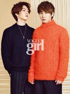 Chang Sub and Eun Kwang - Vogue Girl Magazine October Issue '14