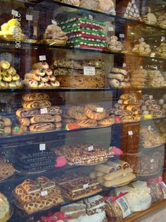 I took this in Assisi, Umbria - typical Italian bakery display.  I think I ingested 400 calories just looking at this!  PhotoCred: AlannahStevens