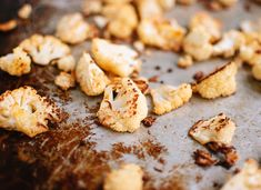 roasted cauliflower with cayenne pepper