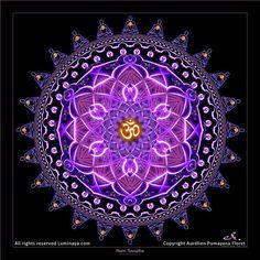 Original Mandala Aum Sangha Spiritual Art Psy Art by Pumayana, $33.00