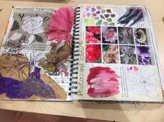 Gcse art sketchbook, a level sketchbook, textiles sketchbook, fashion sketc Kunstjournal Inspiration, Sketchbook Inspiration, Sketchbook Ideas, Textiles Sketchbook, Gcse Art Sketchbook, A Level Art Sketchbook Layout, Fashion Sketchbook, Smash Book, Natural Forms Gcse