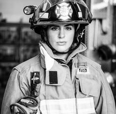 Show some love to the women who run into burning buildings to save the lives of those they do not know. To the women who train their asses… Female Firefighter, Future Jobs, Victorian Women, Emergency Vehicles, Fire Department, Workout Videos, Foto E Video, Feminism, Character Inspiration