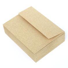 Kraft envelopes for invites