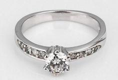 cena 25 zł nr art 720 rozmiar 6 7 8 9  GS marki najlepiej sprzedających 925 srebro i platyna galwanicznie i cyrkon kryształ antyalergiczny pierścienie ladies`wedding biżuteria Opis proszę wziąć Tabela rozmiarów W zdjęcie produktu w celach informacyjnych