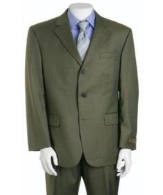 Wool Suits have always been the more traditional suit fabric for mens suits. The super fine weave that super wool has makes for a superior fit and buttery texture that simply must be experienced. Mens White Suit, White Suits, Mens Suits, Discount Prom Dresses, Strapless Prom Dresses, Mens Italian Suits, Olive Green Suit, 3 Button Suit, Expensive Suits