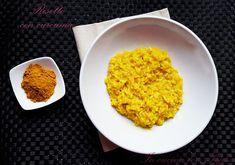 Il risotto con curcuma è un primo molto saporito grazie alla curcuma; spezia che dona colore e sapore. Semplice e abbastanza veloce da preparare...