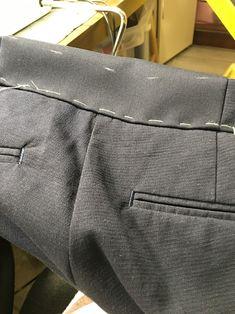 Как расширить или заузить брюки? Надставить верх брюк?