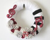 Music lovers wreath - maybe a gift for my sister in law?