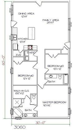 Metal Pole Barn House Plans   -pole-barn-house-floor-plans ...