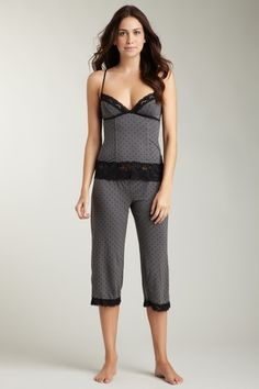 TART Key Item Cami Crop Pant Set by Bare Essentials on @HauteLook