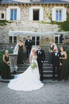 Romantic castle wedding in Fracne | ElegantWedding.ca Field Wedding, Outdoor Wedding Photography, Toronto Wedding, Wedding Couples, Real Weddings, Groom, Castle, Wedding Inspiration, Romantic