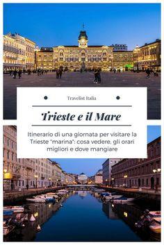 Itinerario di una giornata per visitare Trieste: cosa vedere, gli orari migliori e dove mangiare. #trieste #friuli #itinerari #italia #mare #cucina #viaggi #turismo #ristoranti #pesce #miramare