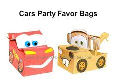 Disney Cars Party Favor bags