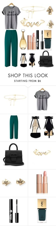 """""""Untitled #120"""" by mckenzie-cool ❤ liked on Polyvore featuring Lilou, L.K.Bennett, Nine West, Maison Margiela, Aéropostale, Charlotte Russe, Yves Saint Laurent and Christian Dior"""