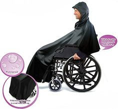 Practik Wheelchair Rain Cover with Extra Length at the Front for Greater Coverage. Comes with  sc 1 st  Pinterest & Keep the rain or sun off with this wheelchair canopy. http://cdnll ...