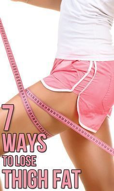 Inner thigh fat can be extremely difficult to get rid of. Try these 7 easy-to-do home exercises and watch the fat fall off your thighs #weightloss #weightlosstips