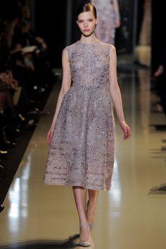 Elie Saab Spring 2013 Couture Fashion Show - Sasha Luss (ELITE)