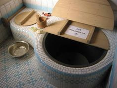 Goemon-style Japanese bath, reproducing the bath from the house in the anime My Neighbor Totoro, shot by Cedric Sam (via Flickr) ...I would love this bath