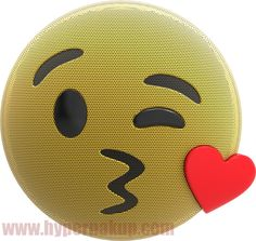 Kiss Emoji, Bluetooth Speakers, Sony, Led