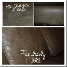 DIY 2 Ingredient Leather Cleaner and Conditioner | Fabulessly Frugal: A Coupon Blog sharing Amazon Deals, Printable Coupons, DIY, How to Extreme Coupon, and Make Ahead Meals