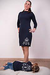 Šaty - Tmavomodré šaty - folk - 9148369_ #detskamoda#jedinecnesaty#handmade#originalne#slovakia#slovenskydizajn#móda#šaty#original#fashion#dress#modre#ornamental#stripe#dresses#vyrobenenaslovensku#children#fashion#rucnemalovane#folk Folk, High Neck Dress, Dresses For Work, Fashion, Turtleneck Dress, Moda, Popular, Fashion Styles, Forks