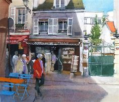 """Montmartre Village"" by David Morris"