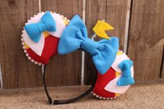 Wonderland Twins Inspired Mouse Ear by ModernMouseBoutique on Etsy