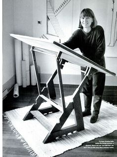 American Woodworker - Google Books - drafting table