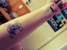 one piece tattoo | Tumblr