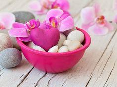 purple orchid - Heart