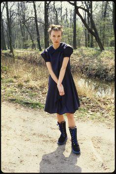 Julie Skarland, AW 1993/94 Ready-to-wear Photo: Jean-Marc Manson