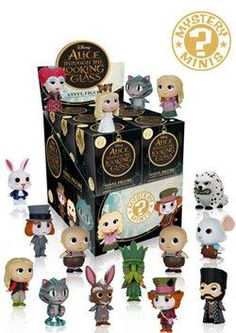 MYSTERY MINIS: DISNEY'S ALICE - THROUGH THE LOOKING GLASS - 12CT BMB DISPLAY