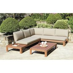 This luxury Miami wooden garden set is made from solid hardwood and comes with a fitted furniture cover and thick, comfy cushions ideal for those looking for a relaxed, designer look. The hardwood used in this product is called Eucalyptus and is one of the most sustainable wood species on the planet giving you peace of mind that this furniture has been produced in an ethical way. They have made this set specifically for outdoor use, so it benefits from chunky wood components to stand up to…