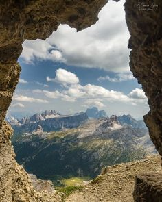 The Dolomites through the windows of the southern Alps in Italy. Photo by Sathish J. [OS] [1022 x 1280]. : EarthPorn
