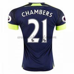 Billige Fodboldtrøjer Arsenal 2016-17 Chambers 21 Kortærmet Tredjetrøje