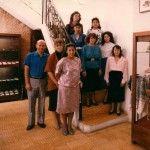 Our team during our beginnings that now has grown up to 60 people. Some of them are still with us.   Nuestro equipo al inicio en los 80s, hoy hemos crecido a ser una familia de mas de 60 personas con la pasión de mostrar al mundo la belleza del Jade Guatemalteco.