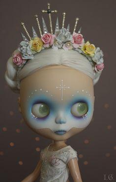 Blythe ~ Dia de los Muertos  ~by I.G. (Sirenita)