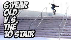 6 YEAR OLD SKATES A 10 STAIR !!! – A DAY WITH NKA – – Nka Vids: Source: nigel alexander