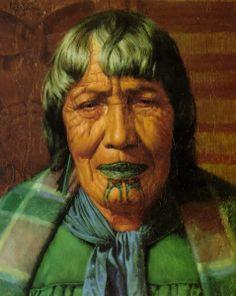 ☆ Te Aitu Te Irikau: An Arawa Chieftainess :¦: Artist Charles Goldie ☆