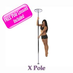 Here is a SAFE and sturdy pole dancing pole for your home that is a good deal. Stripper poles can be designed cheaply and can be dangerous but this dance pole is VERY sturdy, I love mine! You can get a name brand like X Pole X Pert or you can get a sturdy affordable no brand dance pole, it's up to you!