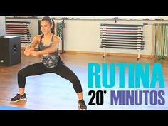 Rutina ejercicios para tonificar el cuerpo | 20 minutos Pilates Training, Pilates Workout, Gym Workouts, Tabata, Yoga Fitness, Yoga Gym, Fitness Tips, Health Fitness, Zumba