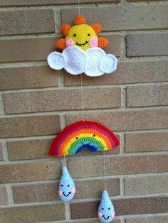 aplicación de nube a crochet