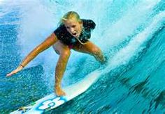 Bethany Hamilton, Quitting is not in her blood. The heart of a winner.