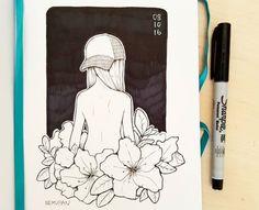 Female child plant flower reference